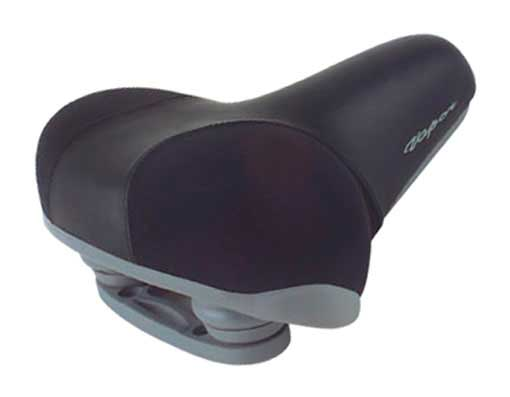 Beach Cruisers Saddle 7644 Black.