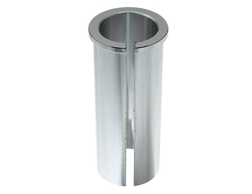 Bike Alloy Seatpost Shim 25.4id 30.9od Silver. 229357