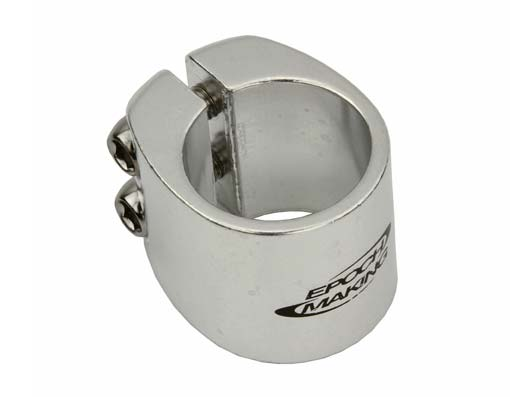 Seat Post Clamp cc-090a Outer Diameter 28.6mm Chrome.