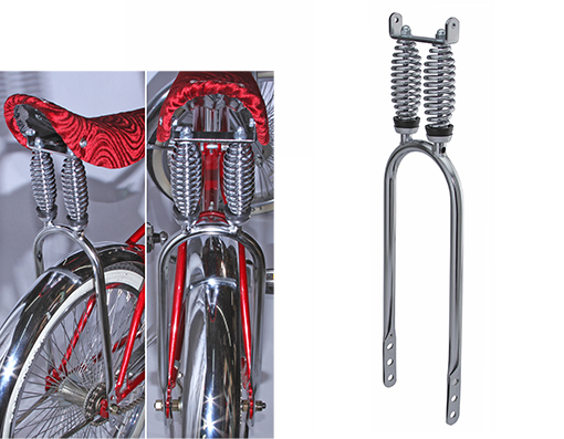 Bike Dual Suspension Sissy Bar 20