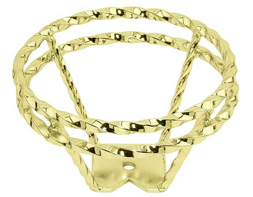 Chain Steering Wheel Gold.