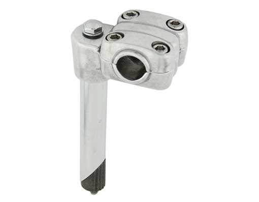 450 Alloy Bicycle Stem 21.1mm Chrome.