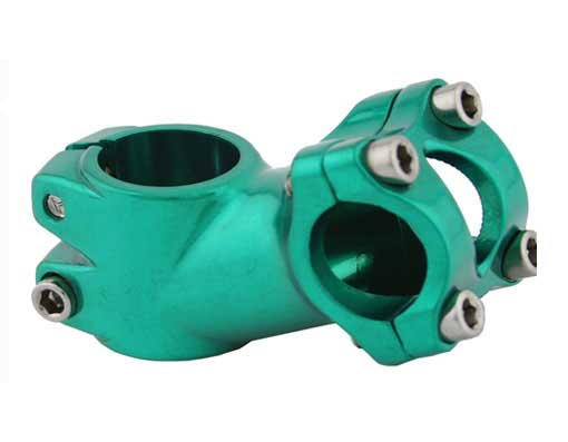 Alloy Bicycle Stem R-63 60mm Green.