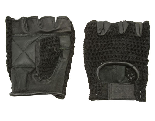 Gloves Leather XL Black Bicycle.