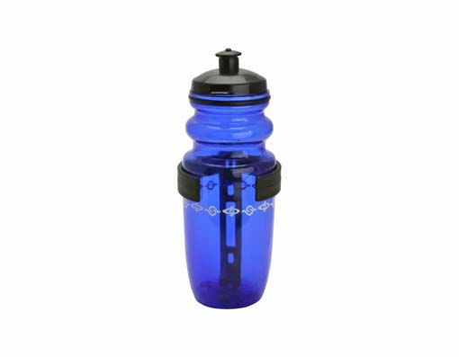 Water Bottle Bicycle W/Cage Small Blue.