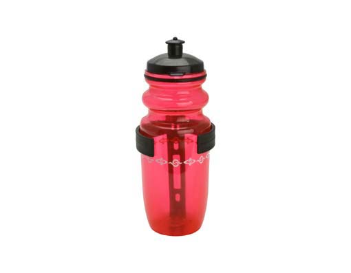 Water Bottle Bicycle W/Cage Small Red.