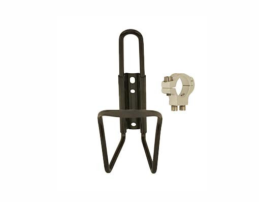 Alloy Handlebar Mount Bottle Cage Black.