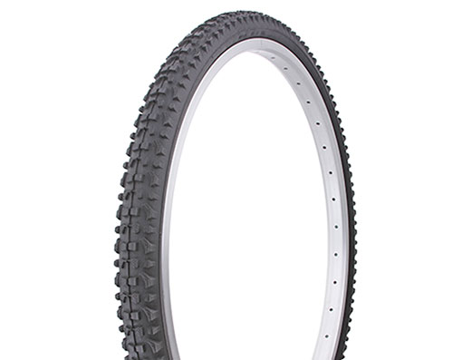 ORIGINAL BICYCLE DURO TIRE IN 26 X 1.75 BLACK//GUM SIDE WALL HF-143G. NEW