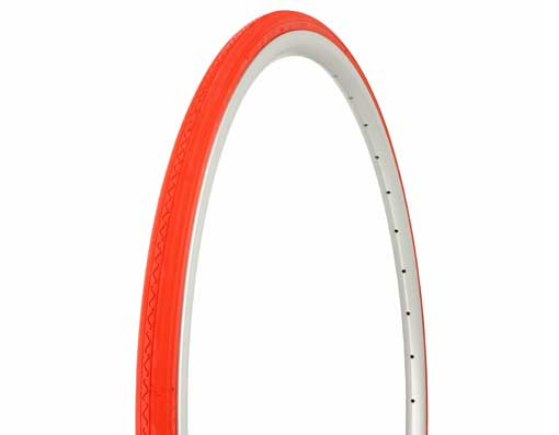 Tire Duro 700 x 23c Red/Red Side Wall
