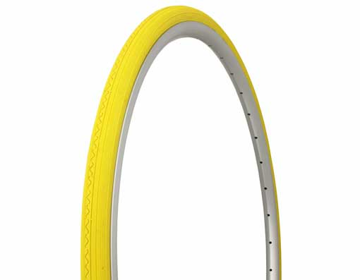 Tire Duro 700 x 28c Yellow/Yellow Side Wall.