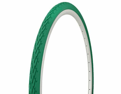 Tire Duro  700 x 35c Green/Green Side Wall.