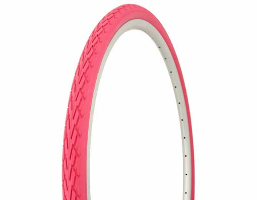 Tire Duro  700 x 35c Pink/Pink Side Wall.