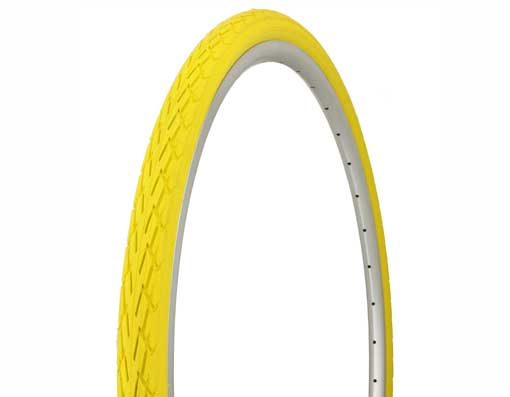 Tire Duro 700 x 35c Yellow/Yellow Side Wall.