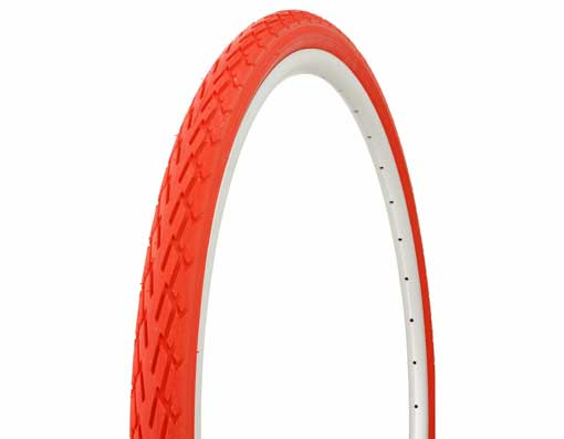 Tire Duro 700 x 38c Red/Red Side Wall.