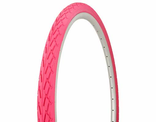 Tire Duro 700 x 40c Pink/Pink Side Wall.