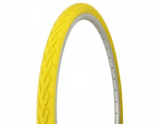 Tire Duro  700 x 40c Yellow/Yellow Side Wall.