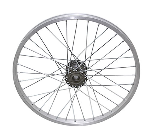 bike 20 36/SpokeTrike Alloy Hollow-Hub G/Right Wheel 12gUCP Bearing 15mm id x 35mm odSingle Wall Silver