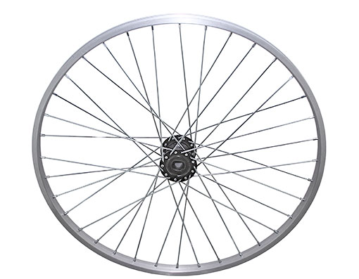 bike 26 36/SpokeTrike Alloy Hollow-Hub G/Right Wheel 12gUCP Bearing 15mm id x 35mm od Single Wall Silver