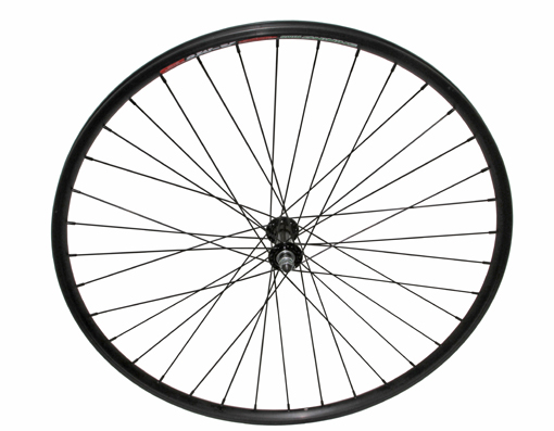 700c Alloy Front Wheel 14G Black.