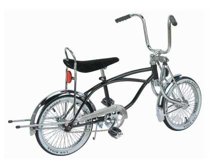 "CHROME 8/"" KICKSTAND LOW RIDER BICYCLE BIKE"