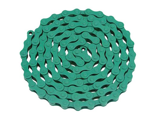 YBN bicycle Chain 1/2x1/8x112 Green.