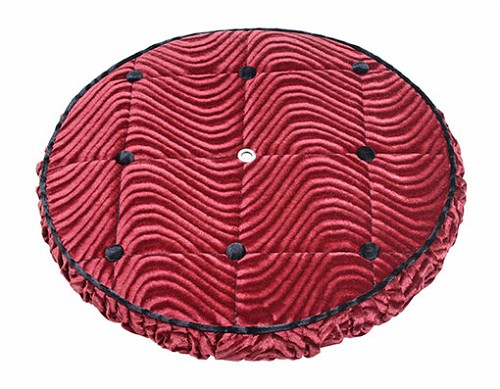 Lowrider bicycle Spare Tire Cover Red.