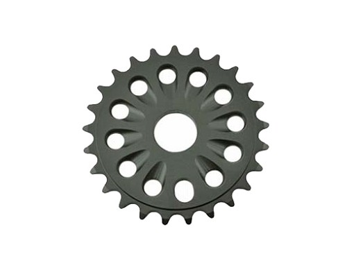 Chainring Alloy -T6 25t 1/2 X 1/8 Black.