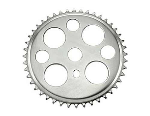 Lucky  7 Sprocket 44t 1/2 X 1/8 Chrome.