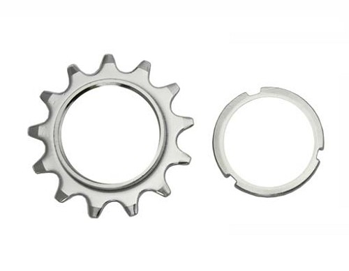 13T Track Fix Cog 1/8 Chrome Bicycle.