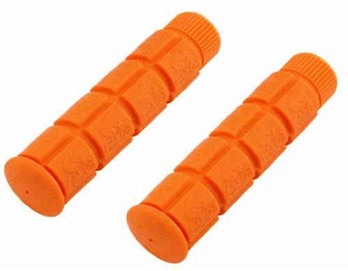 Bicycle Track Grips Orange.