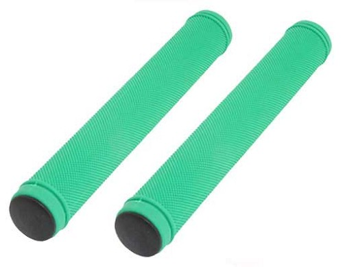 Track Grips Velo 175mm Kraton Rubber Green.