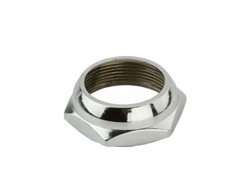 Bicycle Headset Lock Nut 21.1 Chrome.