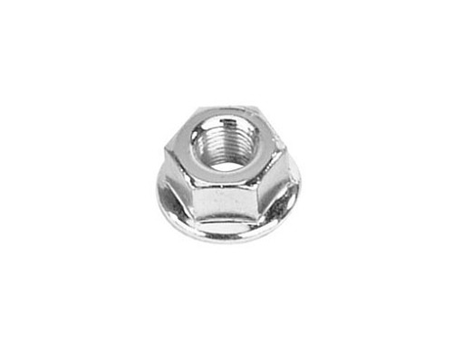 Bicycle Nut 5/16 x 26t Front Chrome.