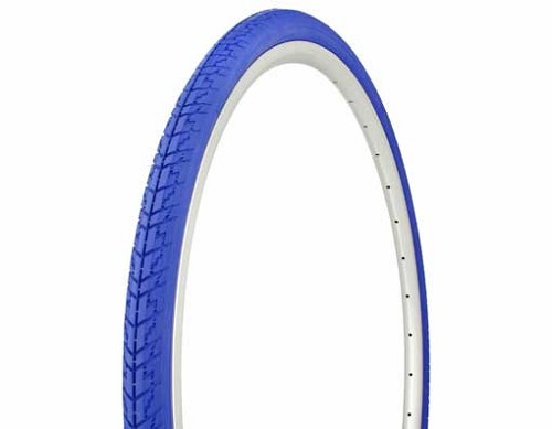 Tire Duro 700 x 35c Blue/Blue Side Wall.