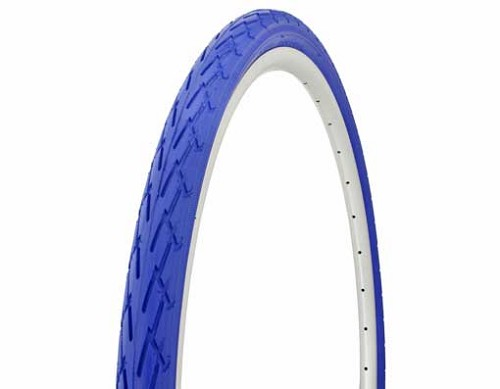 Tire Duro  700 x 38c Blue/Blue Side Wall.