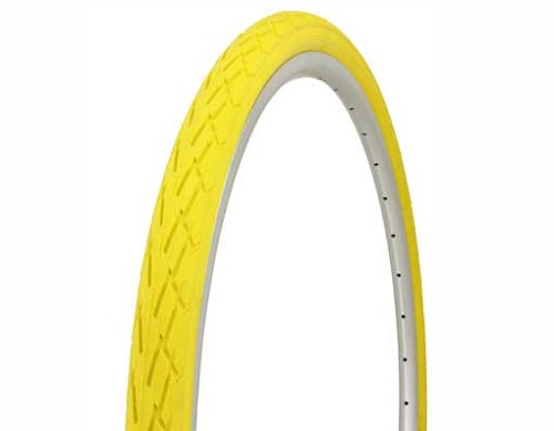 Tire Duro 700 x 38c Yellow/Yellow Side Wall.